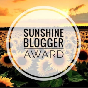 Sunshine Blogger Award Graphic