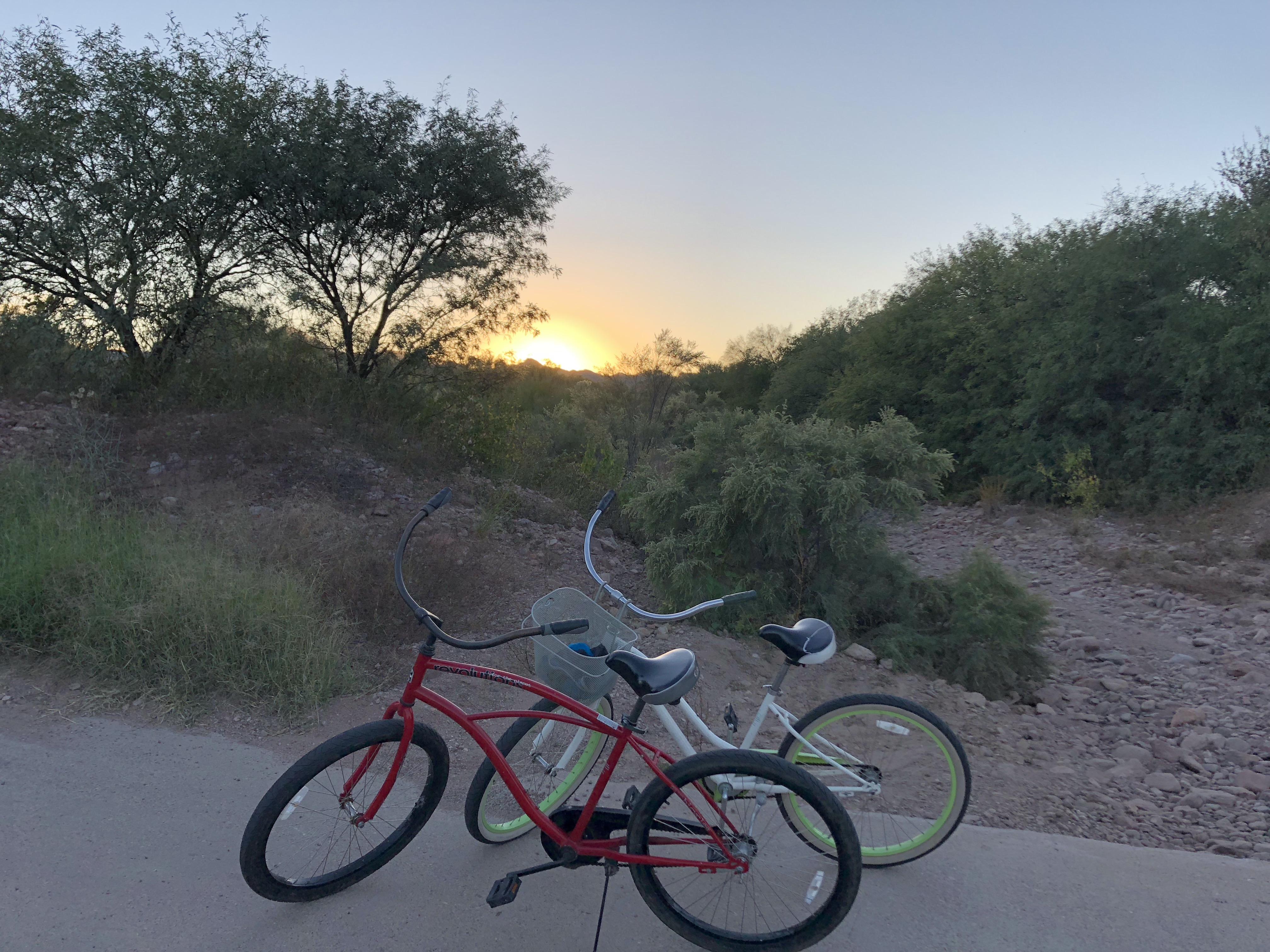 Bikes for borrowing