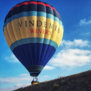 Vindemia Winery Balloon