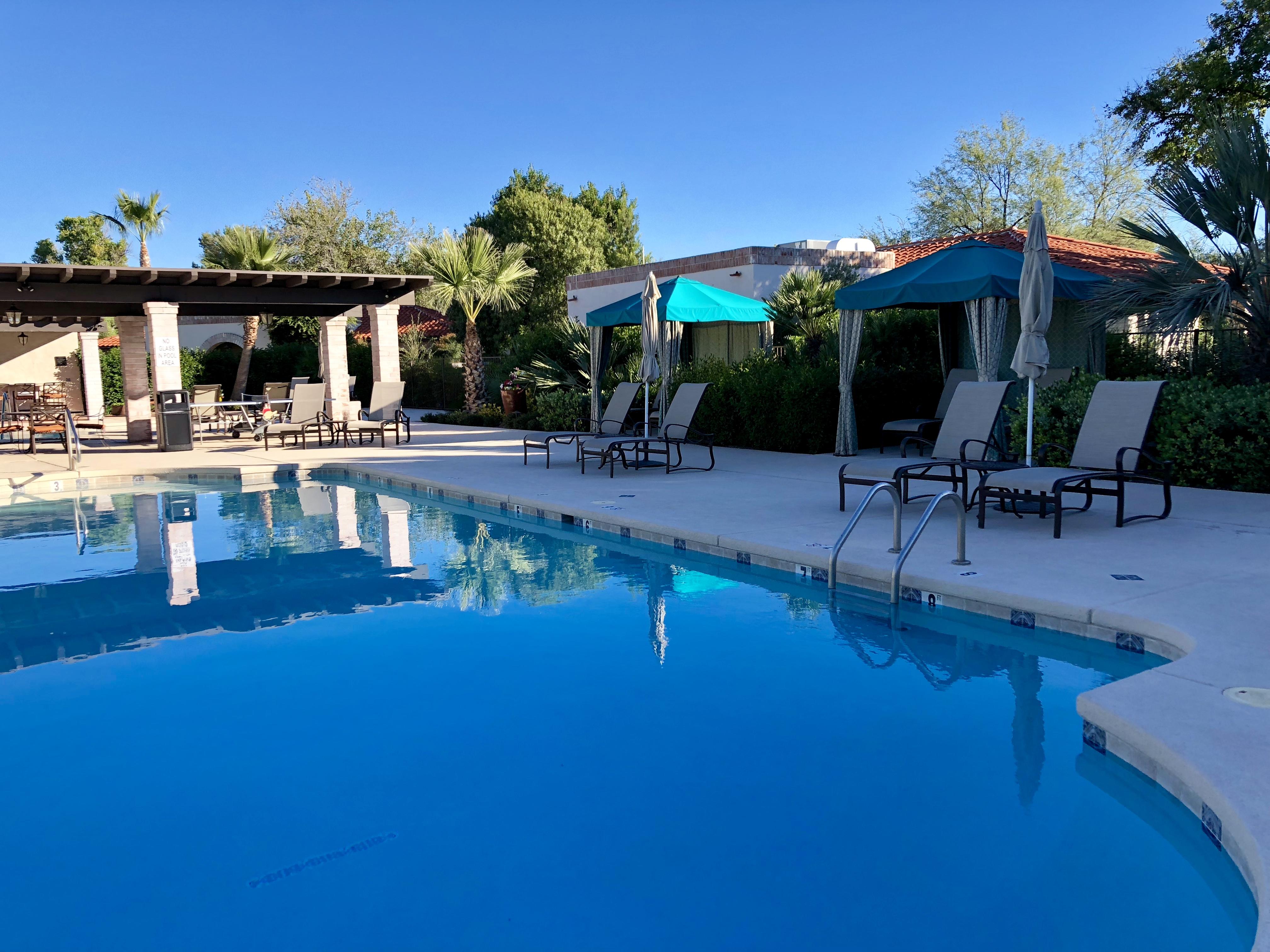 Pool and Cabanaas