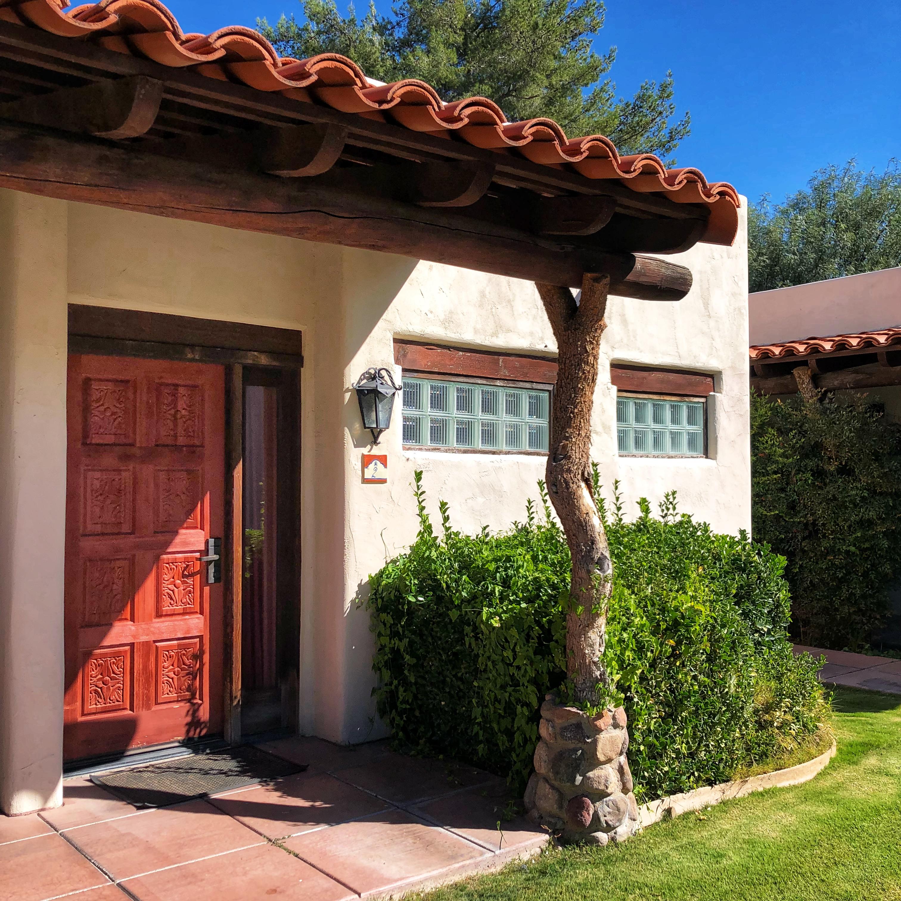 Hacienda Suite Entrance